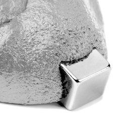 M-PUTTY-FERRO/silver, Intelligente putty magnetisch zilverkleurig, Ferromagnetische klei, zilverkleurig, levering zonder magneet