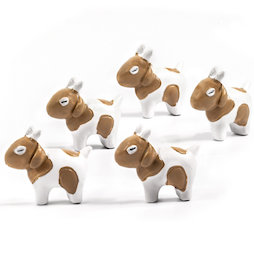 LIV-133, Goats, fridge magnets in goat shape, set of 5