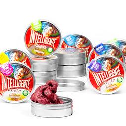 M-PUTTY-MINI, Pâte intelligente 'mini', en petites boîtes, différentes couleurs, non magnétique!