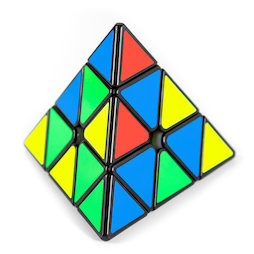 TG-CUBE-03, Puzzel piramide Pyraminx, speedcube magnetisch, Bell Pyraminx van QiYi