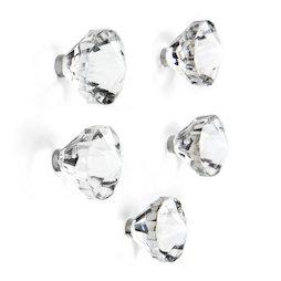 LIV-146, Jewel, Dekomagnete in Juwelen-Form, 5er-Set