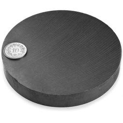FE-S-100-15, Disco magnetico Ø 100 mm, altezza 15 mm, ferrite, Y35, senza rivestimento