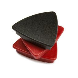 Ganci Portachiavi magnete Portachiavi magnetico Novit/à magneti per frigorifero per qualsiasi superficie metallica nero, confezione da 1