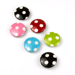 LIV-43, Toadstools, deco magnets with felt protectors, set of 3