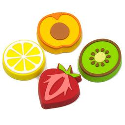 LIV-50, Fruity, Dekomagnete in Form von Früchten, 4er-Set