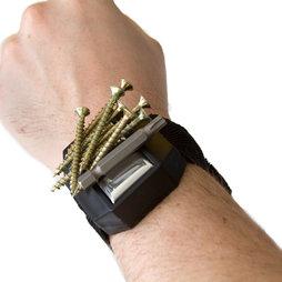 WS-MWH-02, Bracelet avec aimant, pour clous, vis, embouts, etc.
