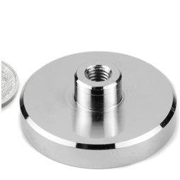 TCN-50, Topfmagnet mit Gewindebuchse, Ø 50 mm, Gewinde M8