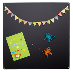 MB-11, Magnetic board square, made from 0.8 mm thick steel sheet, 40 x 40 cm, in different colours