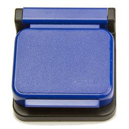BA-013/blue, Magnetklammern MAUL, selbstklebend, 10er-Set, blau