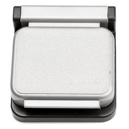 BA-013/silver, Magneetklemmen MAUL, zelfklevend, set van 10, zilverkleurig