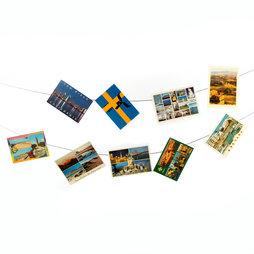 FL-06, Fotoseil 3 m, mit 2 Schlaufen, inkl. 30 Magnete