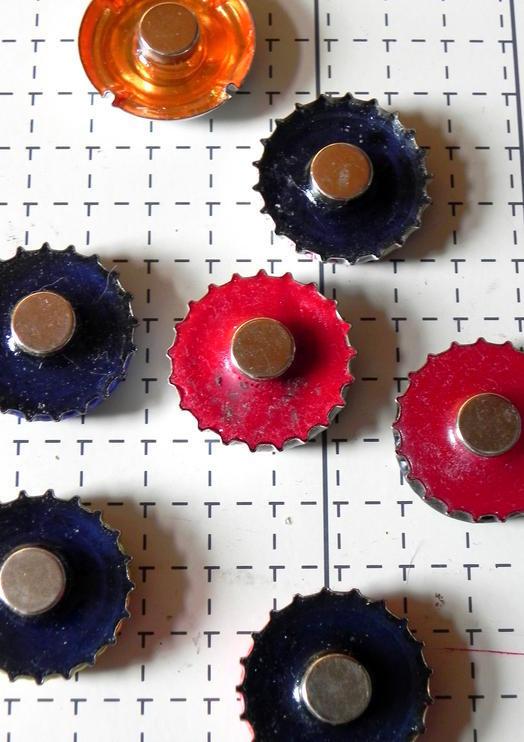 magnet anwendungen kronkorken magnete supermagnete. Black Bedroom Furniture Sets. Home Design Ideas