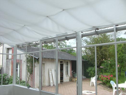 magnet anwendungen sonnenschutz im wintergarten supermagnete. Black Bedroom Furniture Sets. Home Design Ideas